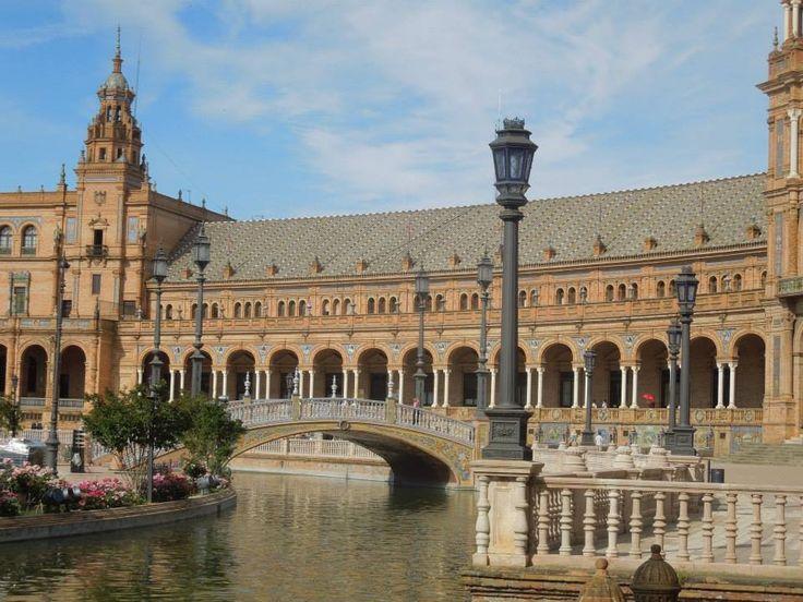 Sevilla ~ Plaza de Espana ~ Andalusia ~ Spain