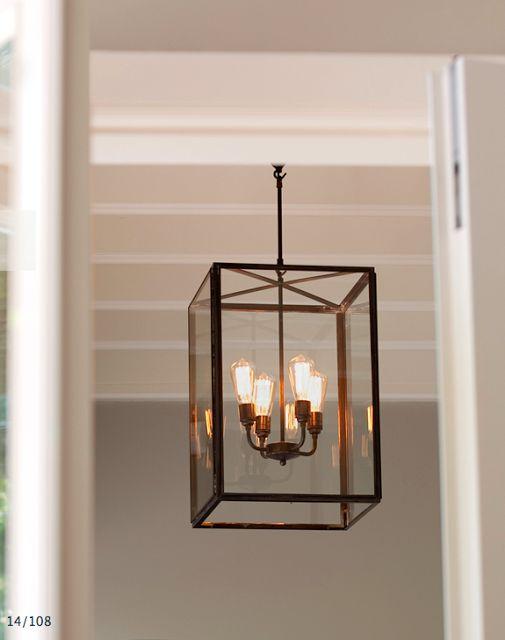 Beautiful hanging lantern, indoor or outdoor by Tekna lighting for Interieurs Francine Gardner - Art de Vivre