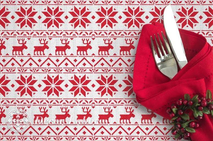 scandinavian chrismas pattern - christmas stencil - karácsonyi stencil http://decorlabor.hu/