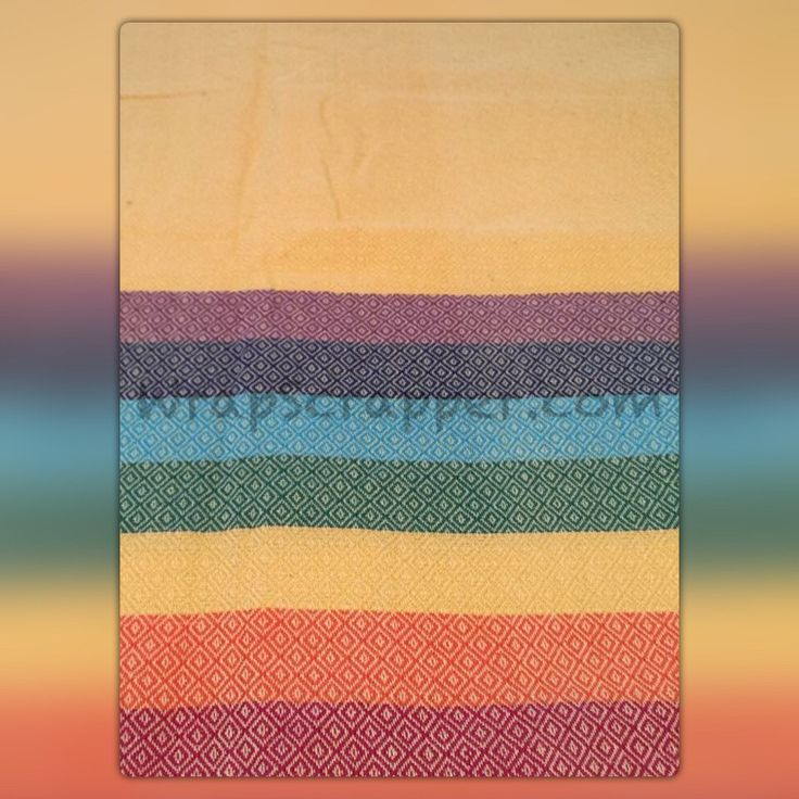 Girasol Sunshine Rainbow DW Wrap Scrap
