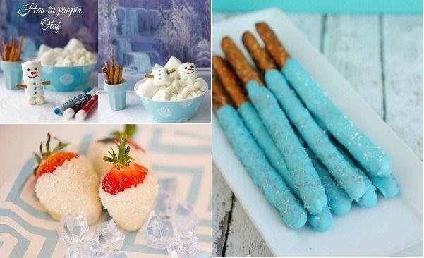 Ideas para comida cumpleaños de frozen