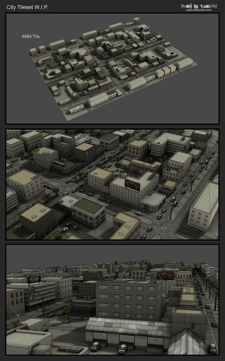 LOWPOLY (sub 1000~ triangle models) - Page 393 - Polycount Forum