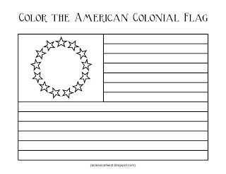 Homeschooling with a Classical Twist: Original 13 Colonies and Colonial Flag {Printable}: