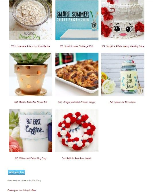 Share your latest and greatest crafts, recipes and DIY projects with us here.