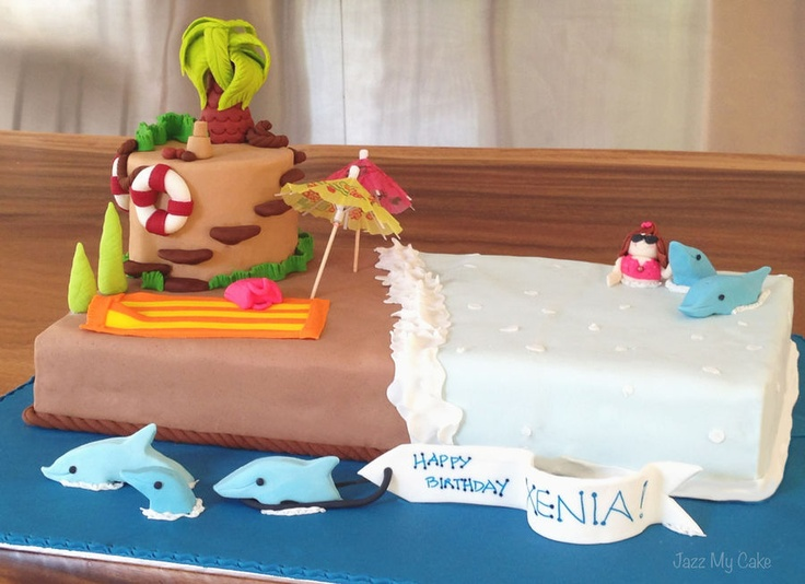 Xenias Cake Designs : 4101 best images about Beach and Sea Cakes on Pinterest ...