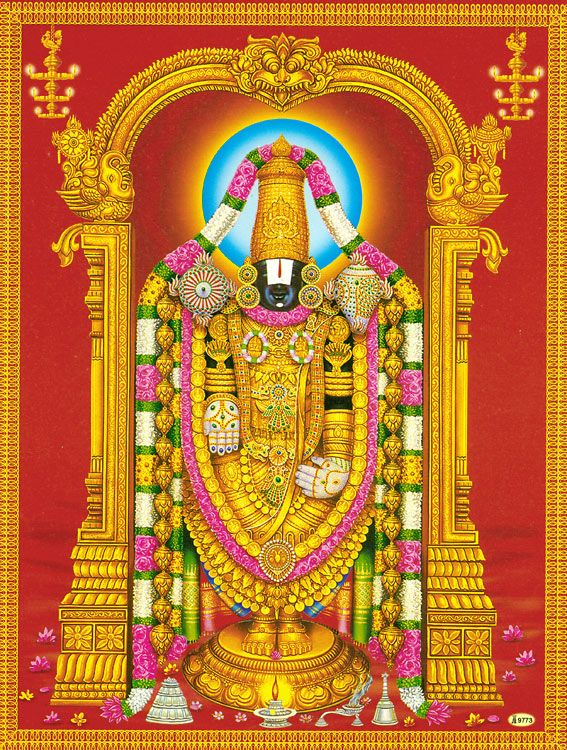 Balaji | Lord vishnu wallpapers, Lord shiva family, Lord ...