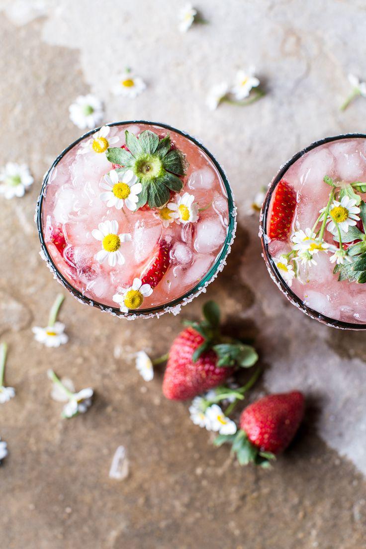 Strawberry Chamomile Paloma   halfbakedharvest.com @hbharvest