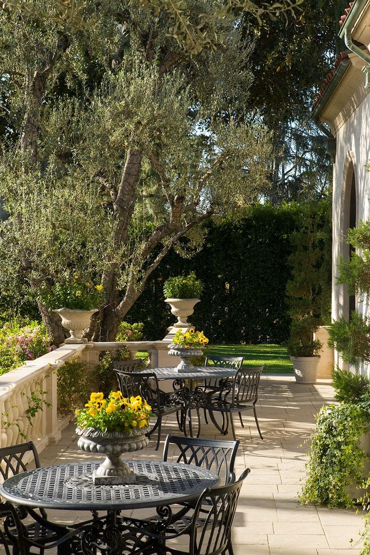 209 best Mediterranean Gardens images on Pinterest | Backyard patio ...