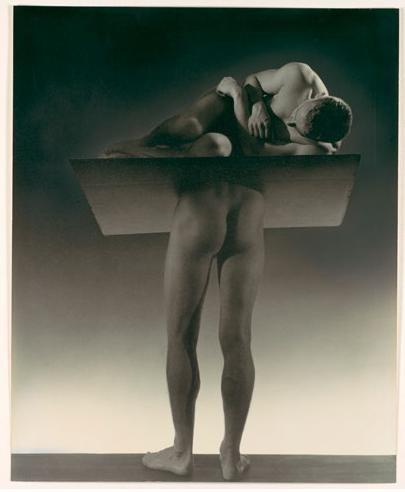 George Platt Lynes, el sonámbulo, 1935, Ford Motor Company Colección, regalo de Ford Motor Company y John C. Waddell, © Raíces de George Platt Lynes.