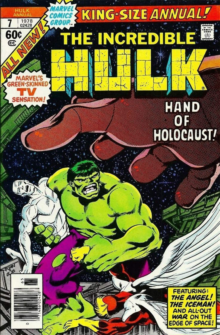 The Incredible Hulk Annual #7 - The Evil that is Cast... (Issue)