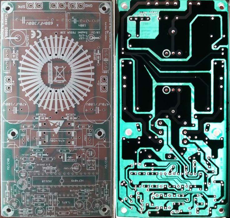 Buy PCB Class D Amplifier