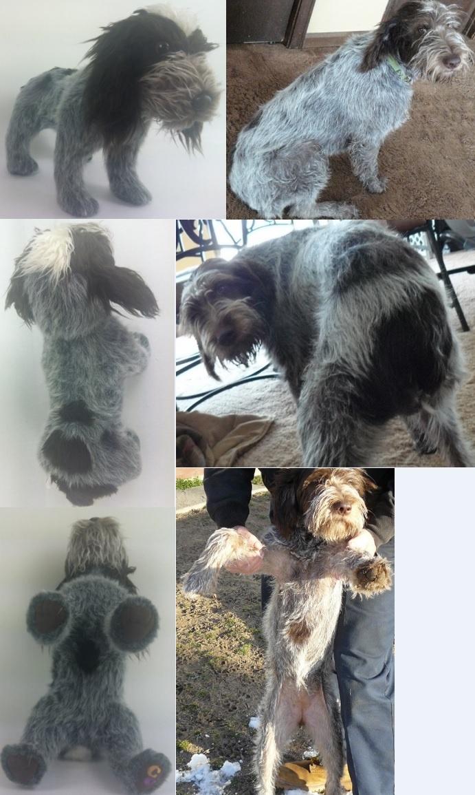 Custom stuffed animal made to look just like your dog