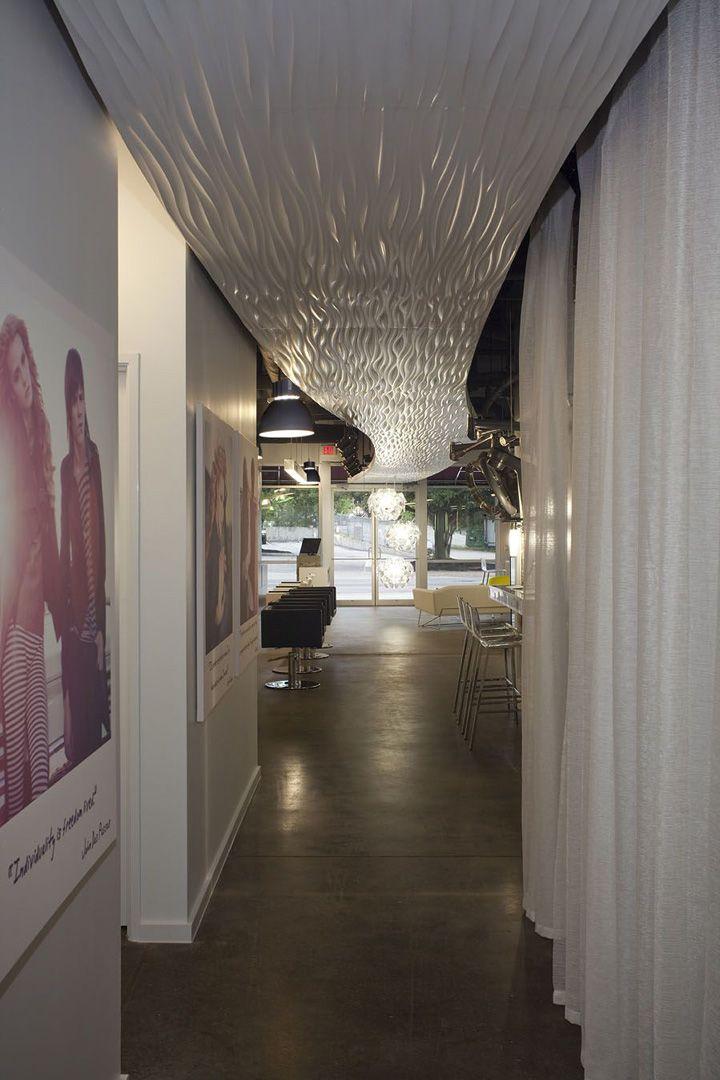 Propaganda Hair Salon ~ Amazing Ceiling!