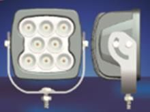 Work, Spot, Flood Light LED 80W  Operating Voltage: 9-60V DC  Waterproof rating: IP 67  8*10w high intensity Cree LEDs  Luminous Flux 6400lm  Color Temperature: 6500K  Material: Die cast aluminum housing  Lens material: PMMA  Mounting Bracket: Stainless Steel  Optional Beam: 60 or 30 degree  Expected Life 30000+ hours  Certificates: CE RoHs