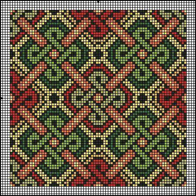 Brickwork or canvaswork, good for almoner (bag) Gallery.ru / Фото #5 - Подушки - natamalin