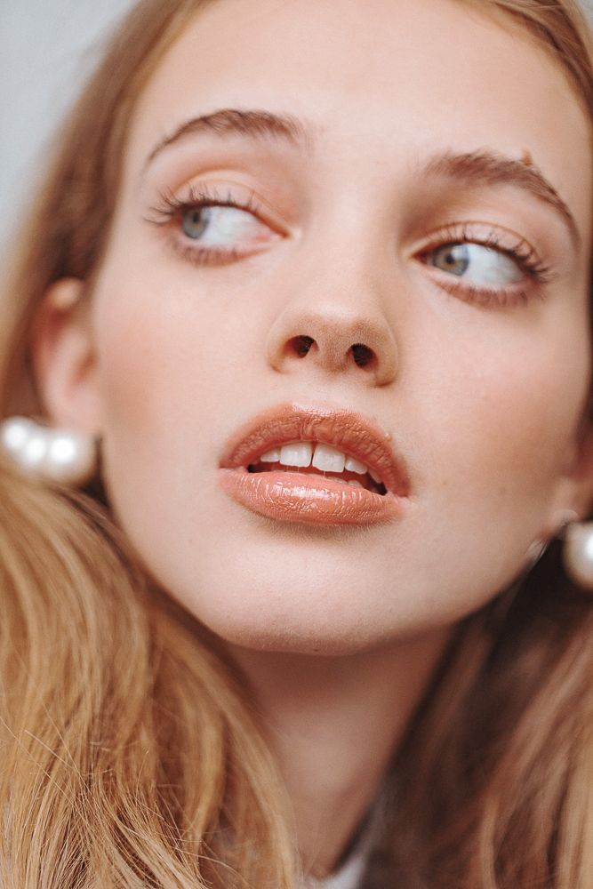 Glossy Lips Matte Skin Makeup Looks Glossy Lips Face Angles