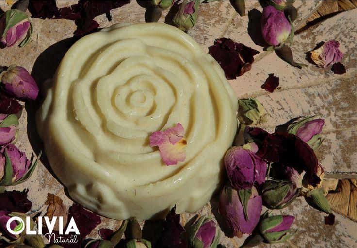 Rózsageránium testvaj / Rose geranium body butter