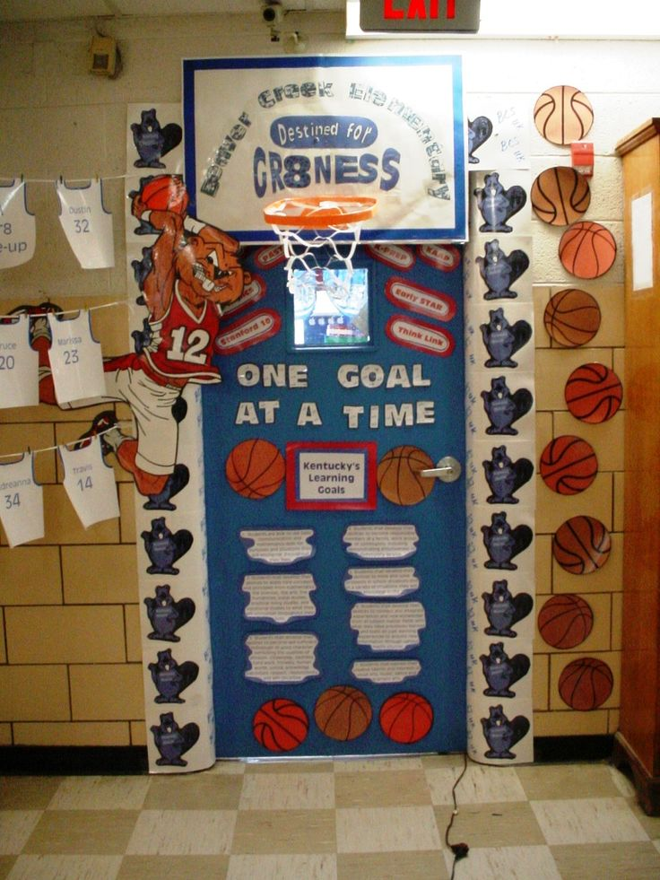 Basketball Testing Theme Door & 17 Best images about basketball on Pinterest | Sport quotes Team ... Pezcame.Com