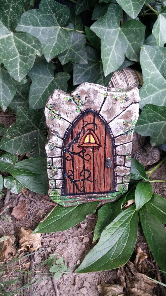 1000 ideas about hand painted rocks on pinterest rock for Painted fairy doors