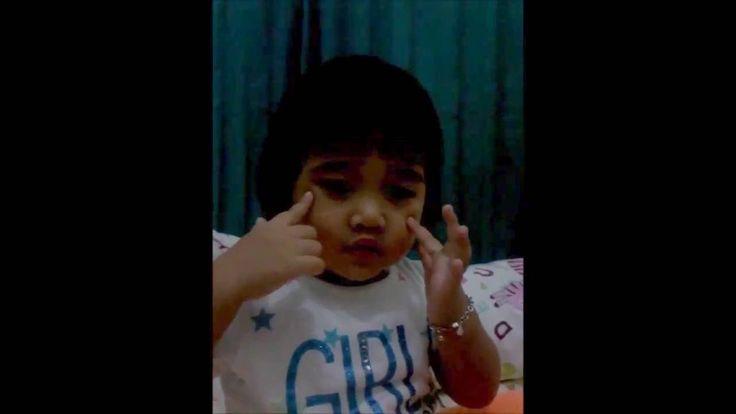 Funny video of princess chece expression