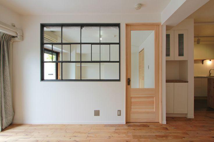 window/窓/室内窓/アイアン/格子/design by フィールドガレージ