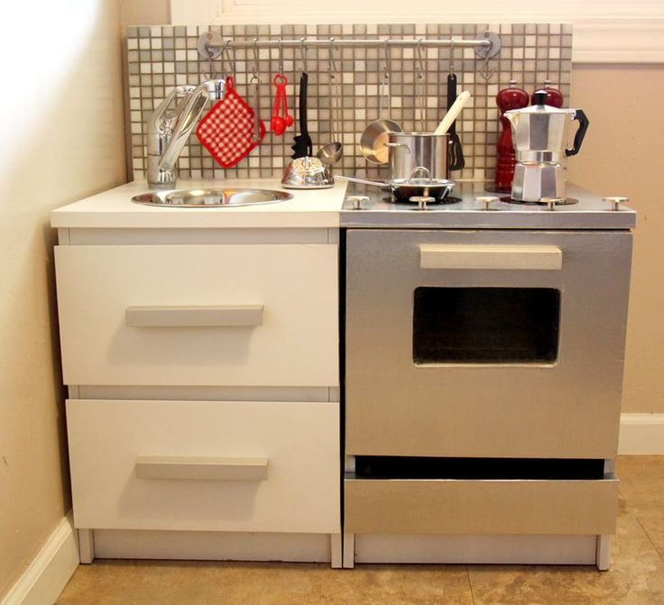 87 Best Diy Play Kitchens Images On Pinterest Child Room