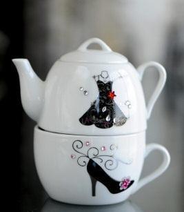 Verdici Design cup and teapot set