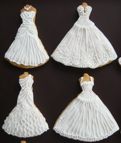 Best 25  Wedding dress cookies ideas on Pinterest | Wedding ...