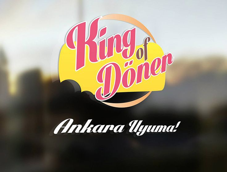 King Of Döner / Next Level Avm Ankara logo tasarımı