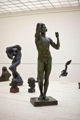 Auguste Rodin, Kovový věk, 1876, Galerie hlavního města Prahy