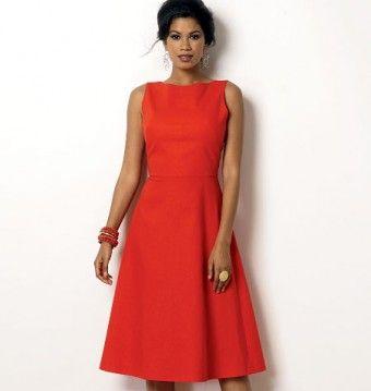 Butterick - B6016 patroon jurk | Naaipatronen.nl | zelfmaakmode patroon online