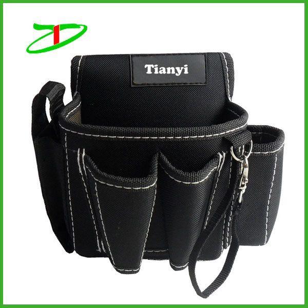 2017 wholesale muti-function tool bag custom electrician tool bag small waist tool bag