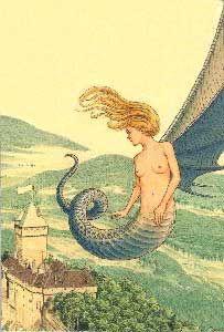 La vouivre et la Fée Mélusine - LysDesharon