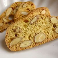 Almond, Lemon, Anise Biscotti by Marguerite