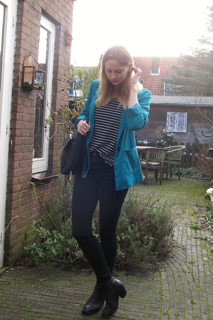 My Merry Morning: Outfit   De Groene Blazer