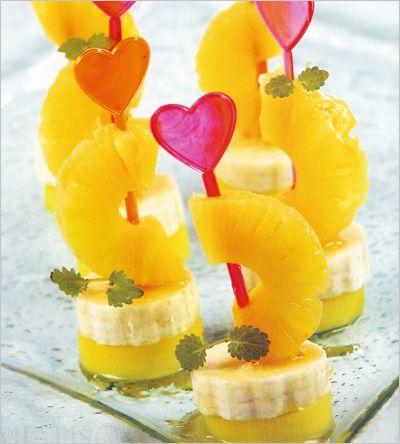 Канапе фруктовое » Кулинарные рецепты. Пошаговые фото ...
