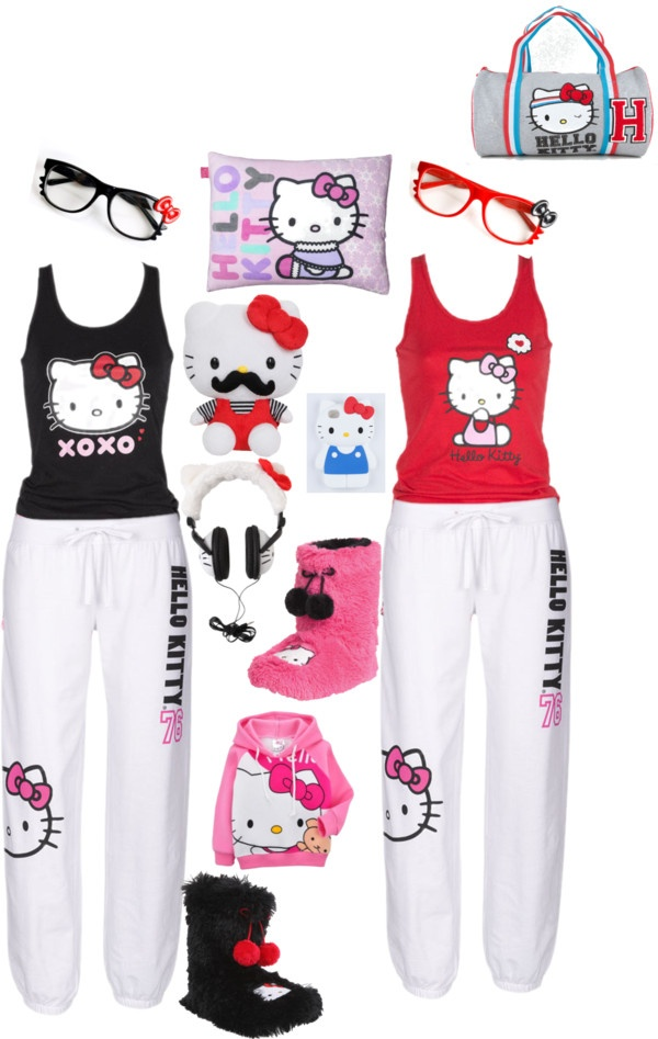 hello kitty outfits for women