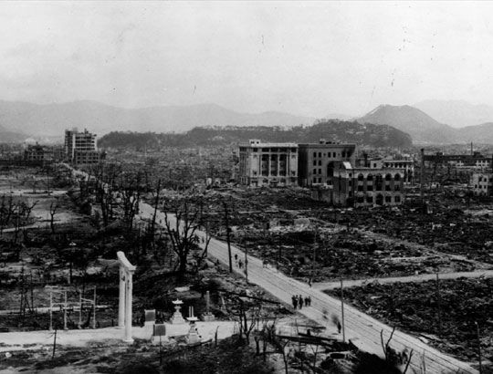 an overview of the civilian casualties by the atomic bomb which united states dropped on hiroshima a The united states dropped nuclear weapons on the japanese cities of hiroshima and nagasaki on august 6 and 9, 1945, respectively, during the final stage of world war iithe united states had dropped the bombs with the consent of the united kingdom as outlined in the quebec agreementthe two bombings, which killed at least 129,000 people, remain the only use of nuclear weapons for warfare in.
