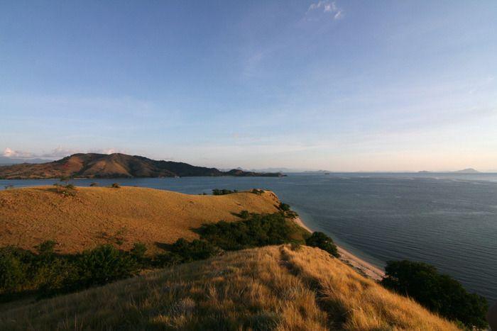 On top of Seraya Kecil Island. Photo by Indra Febriansyah