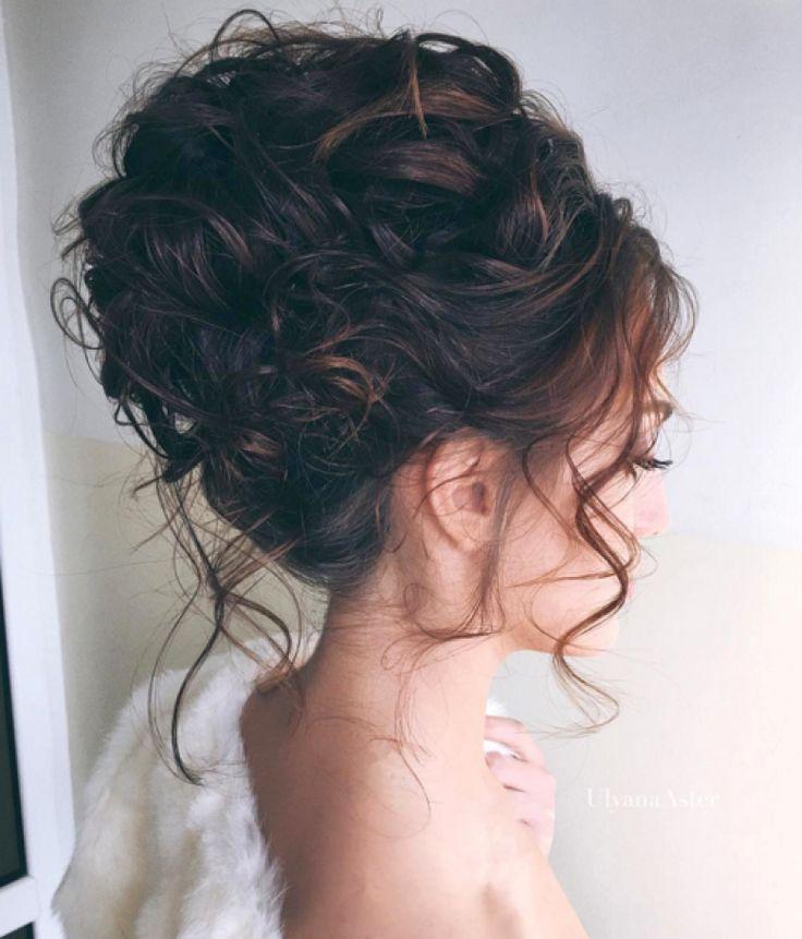 Картинки вечерних причесок на средние волосы