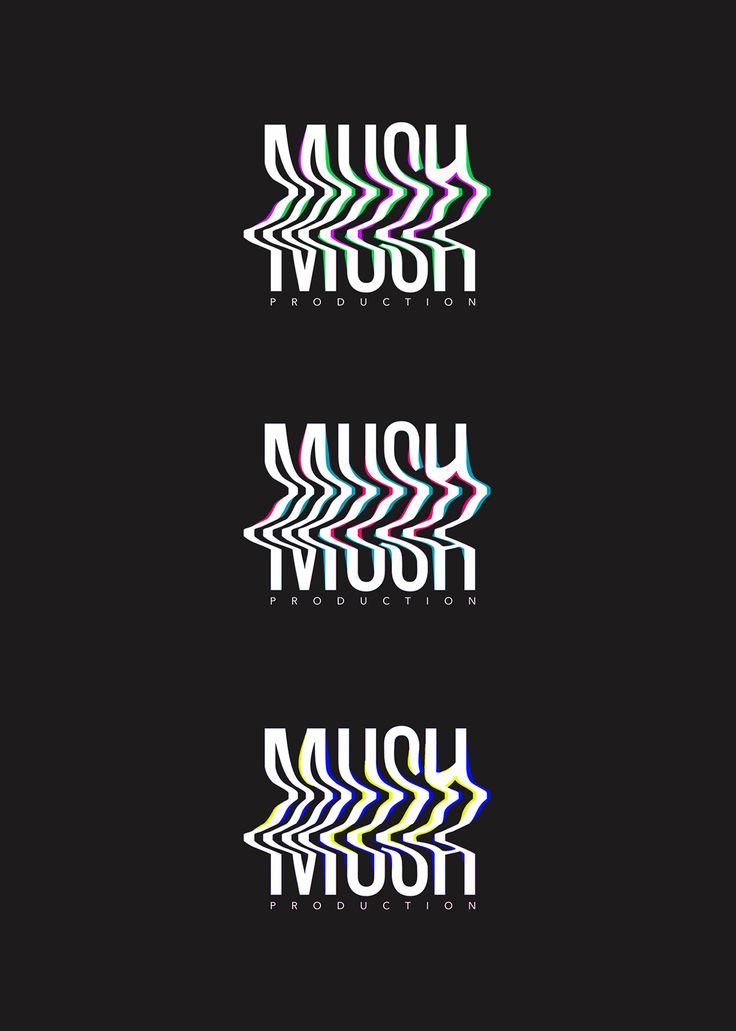 Glitch logo collection on Behance