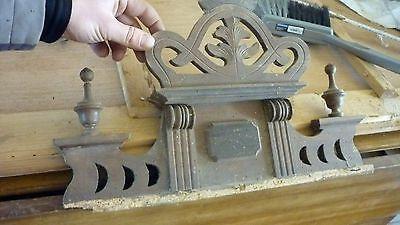 alte antike schrank krone aufsatz jugendstil shabby chic bauer landhausstil