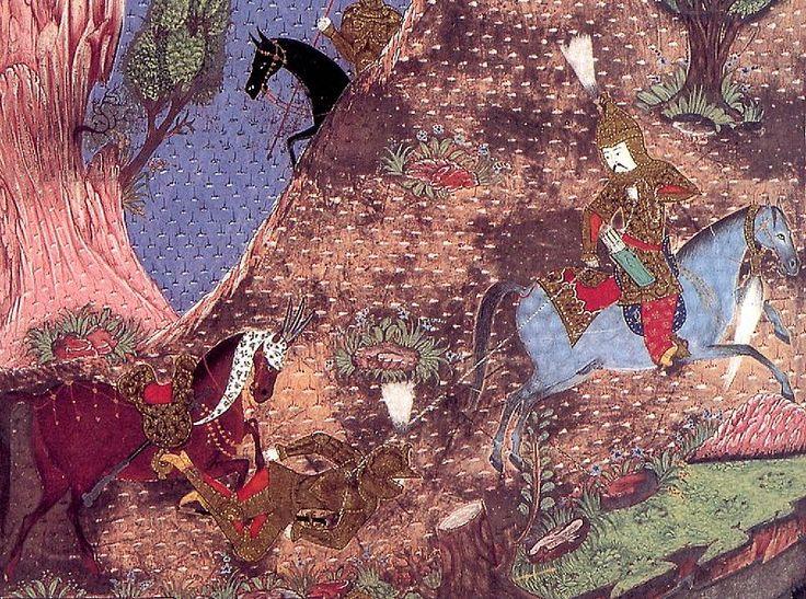 Matrakçı Nasuh-The Akinci Leader Turhan Bey-The Battle of Mohács,1526-Süleymanname