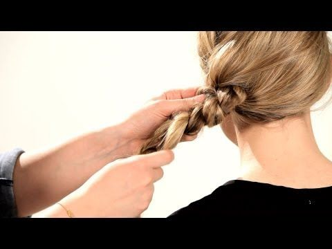 How to Do a Knotted Messy Braid | Braid Tutorials