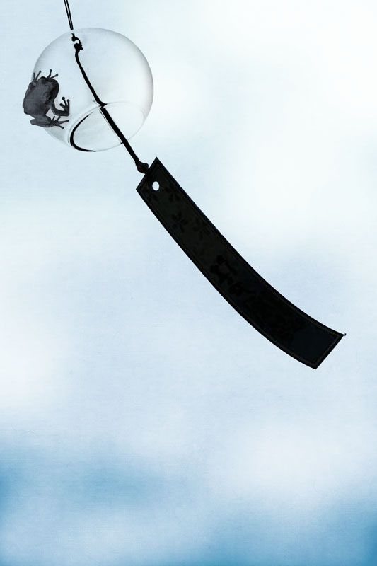 Japanese wind chime: by Yoriko YOUDA