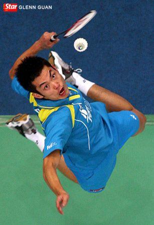 Number 1 Badminton Singles Lin Dan, China.