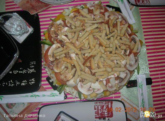 Салат восточный рецепт с колбасой