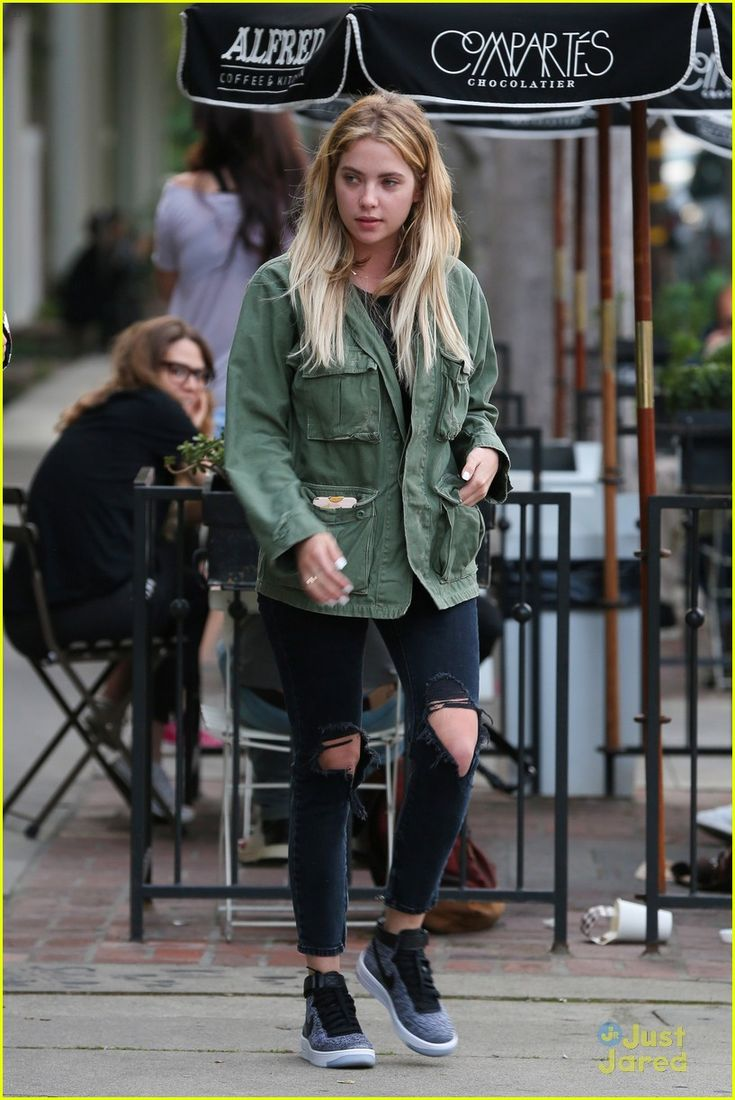 Ashley Benson Gets Motorcycle Ride From Keegan Allen: Photo #937154. Keegan Allen slides onto his motorcycle with Ashley Benson on the back in Los Angeles on Thursday afternoon (March 3).    The two Pretty Little Liars actors were…