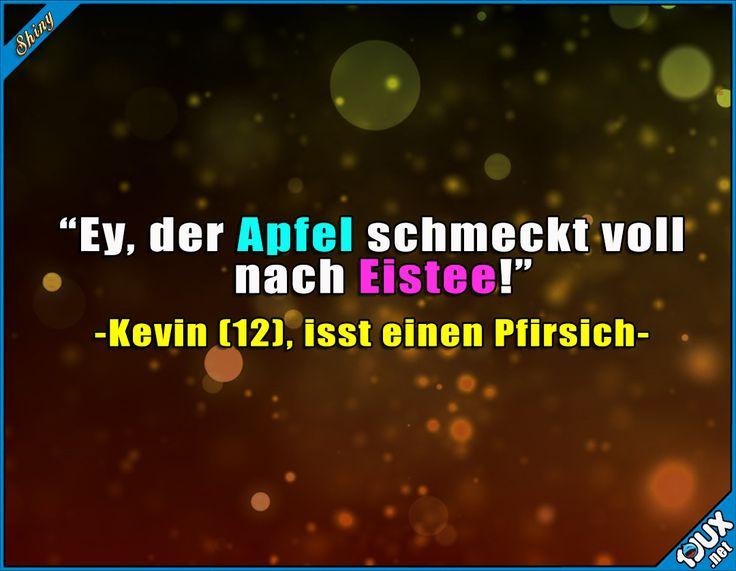 Apfel mit Eisteegeschmack? ^^' Lustige Sprüche und Memes #lustigeSprüche #Memes #Humor #Jodel #Sprüche #Eistee #Apfel #Pfirsich #lustigeBilder