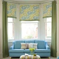 bay window curtains   Make your windows a stunning focal point